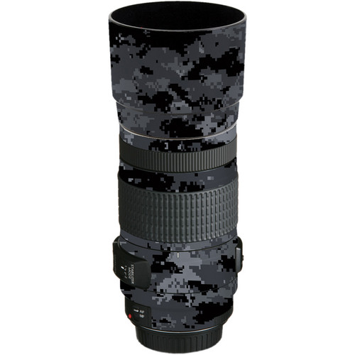 LensSkins Lens Skin for the Canon EF 70-300mm f/4-5.6 IS USM Lens (Dark Camo)