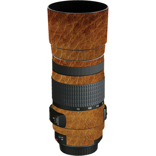 LensSkins Lens Wrap for Canon 70-300mm f/4-5.6 (Leathered)