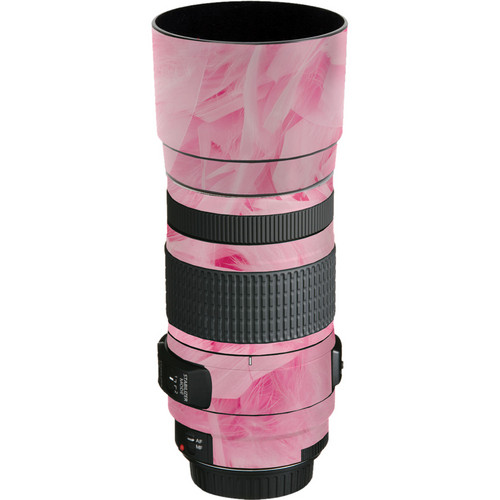 LensSkins Lens Skin for the Canon EF 70-300mm f/4-5.6 IS USM Lens (Tickled Pink)