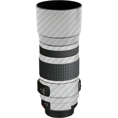 LensSkins Lens Skin for the Canon EF 70-300mm f/4-5.6 IS USM Lens (White Carbon Fiber)
