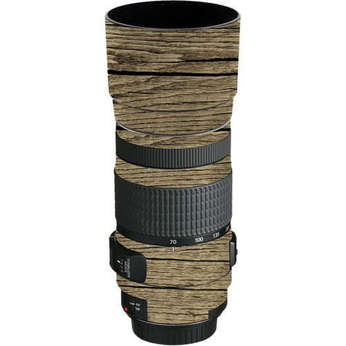LensSkins Lens Wrap for Canon 70-300mm f/4-5.6 (Woodie)