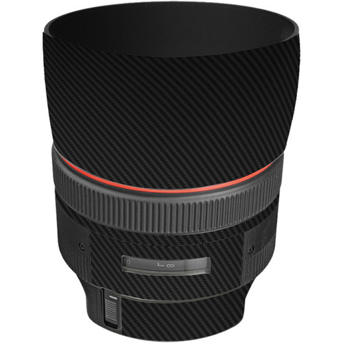 LensSkins Lens Skin for the Canon 85mm f/1.2L II EF USM Lens (Black Carbon Fiber)