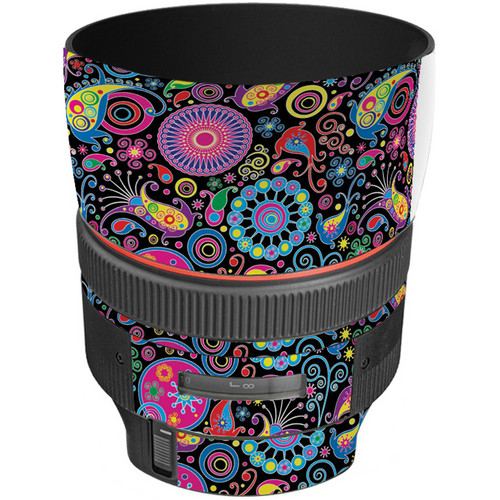 LensSkins Lens Skin for the Canon 85mm f/1.2L II EF USM Lens (Carnival Flair)