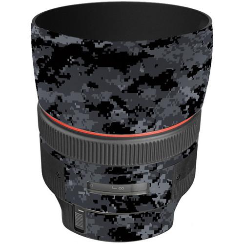LensSkins Lens Skin for the Canon 85mm f/1.2L II EF USM Lens (Dark Camo)