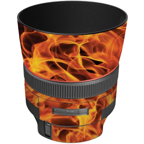 LensSkins Lens Wrap for Canon 85mm f/1.2L II (Fire)