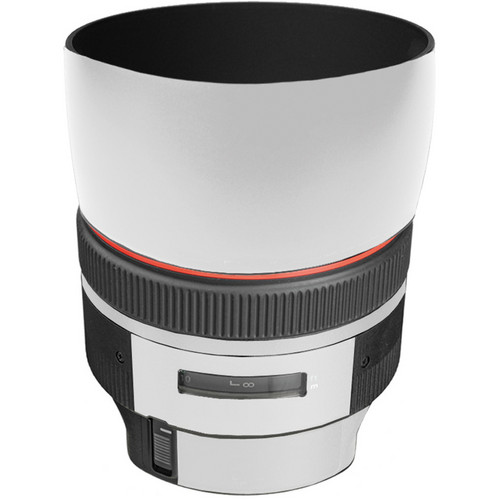 LensSkins Lens Skin for the Canon 85mm f/1.2L II EF USM Lens (Flat White)