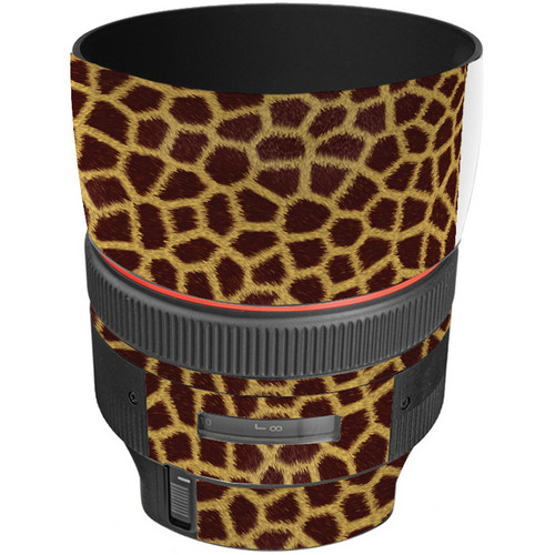 LensSkins Lens Skin for the Canon 85mm f/1.2L II EF USM Lens (Giraffe)