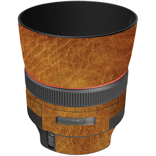 LensSkins Lens Wrap for Canon 85mm f/1.2L II (Leathered)