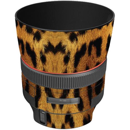 LensSkins Lens Wrap for Canon 85mm f/1.2L II (Leopard)