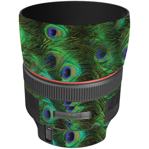 LensSkins Lens Skin for the Canon 85mm f/1.2L II EF USM Lens (Peacock Bliss)