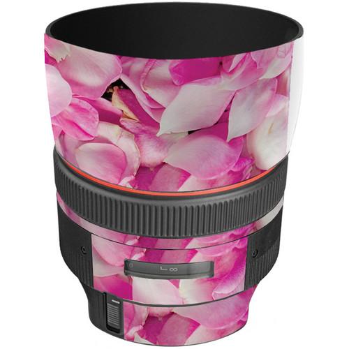 LensSkins Lens Skin for the Canon 85mm f/1.2L II EF USM Lens (Pink Petals)