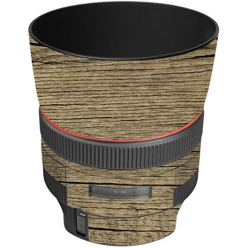 LensSkins Lens Wrap for Canon 85mm f/1.2L II (Woodie)