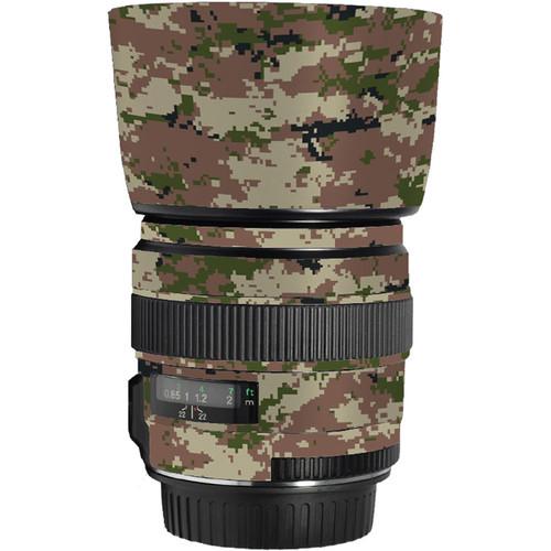 LensSkins Lens Skin for the Canon 85mm f/1.8 EF USM Lens (Camo)