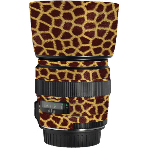LensSkins Lens Skin for the Canon 85mm f/1.8 EF USM Lens (Giraffe)