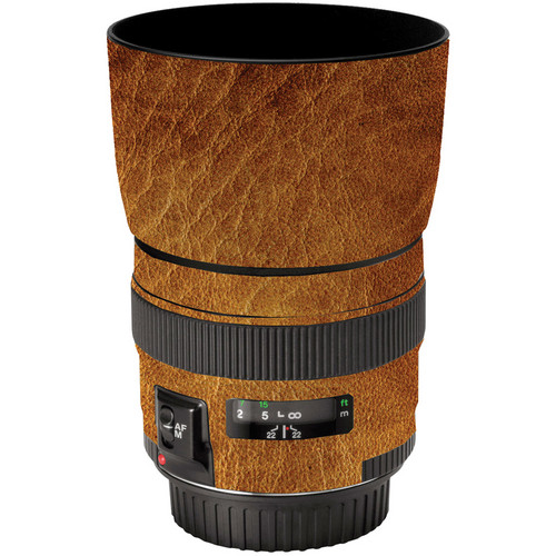LensSkins Lens Wrap for Canon 85mm f/1.8 (Leathered)