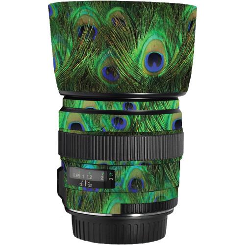 LensSkins Lens Skin for the Canon 85mm f/1.8 EF USM Lens (Peacock Bliss)