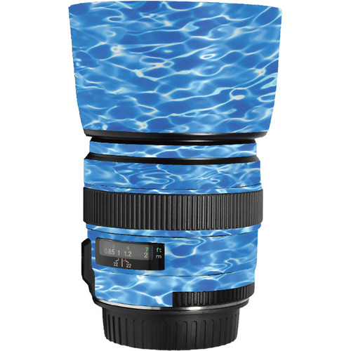 LensSkins Lens Skin for the Canon 85mm f/1.8 EF USM Lens (Underwater)