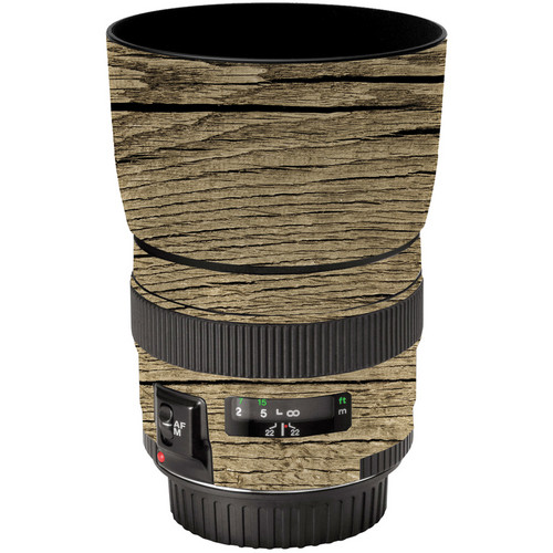 LensSkins Lens Wrap for Canon 85mm f/1.8 (Woodie)