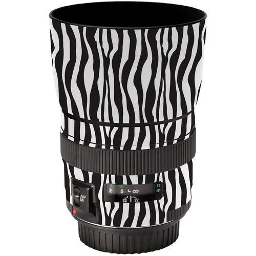 LensSkins Lens Wrap for Canon 85mm f/1.8 (Zebra (Wild Child))