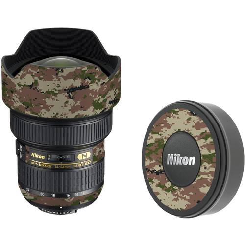 LensSkins Lens Skin for the Nikon 14-24mm f/2.8G AF-S ED Lens (Camo)