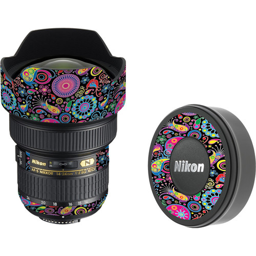 LensSkins Lens Skin for the Nikon 14-24mm f/2.8G AF-S ED Lens (Carnival Flair)