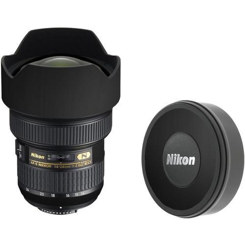 LensSkins Lens Skin for the Nikon 14-24mm f/2.8G AF-S ED Lens (Flat Black)