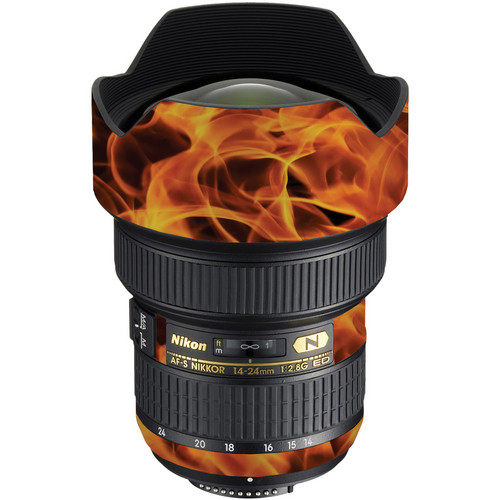LensSkins Lens Wrap for Nikon 14-24mm f/2.8G (Fire)