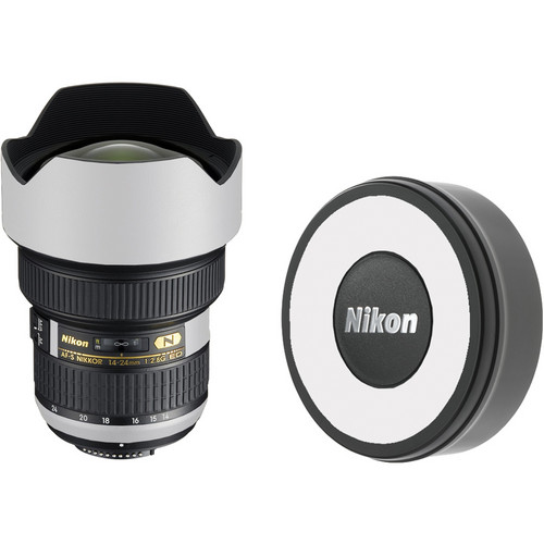LensSkins Lens Skin for the Nikon 14-24mm f/2.8G AF-S ED Lens (Flat White)