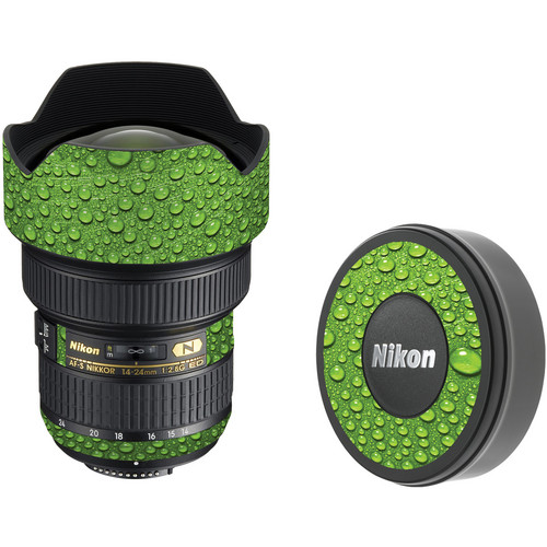 LensSkins Lens Skin for the Nikon 14-24mm f/2.8G AF-S ED Lens (Green Water)