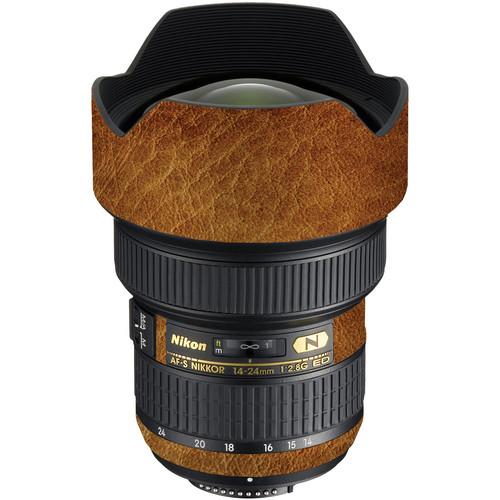 LensSkins Lens Wrap for Nikon 14-24mm f/2.8G (Leathered)