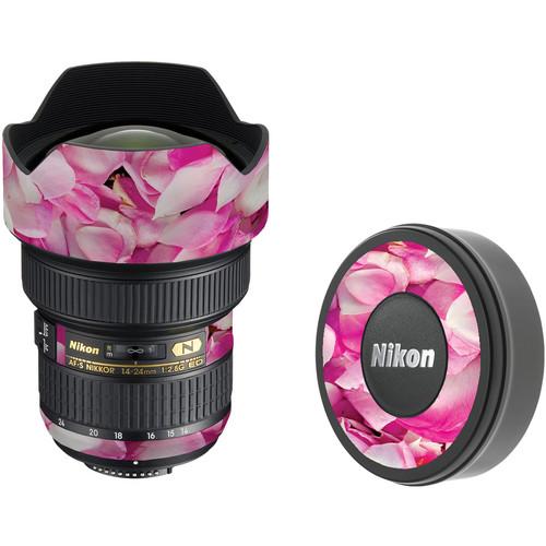 LensSkins Lens Skin for the Nikon 14-24mm f/2.8G AF-S ED Lens (Pink Petals)