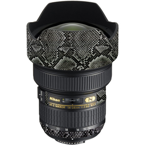 LensSkins Lens Wrap for Nikon 14-24mm f/2.8G (Snake Skin)