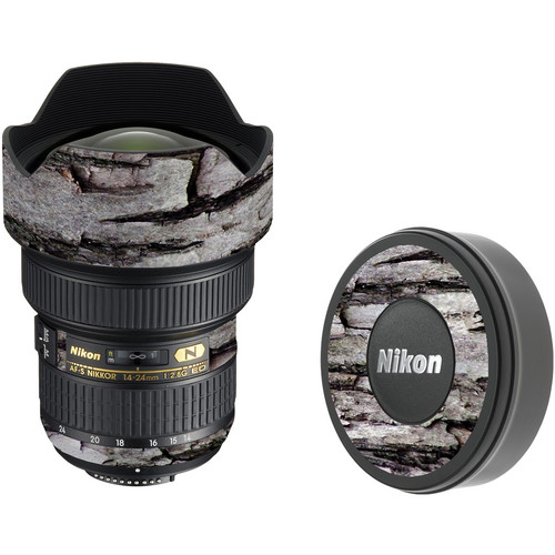 LensSkins Lens Skin for the Nikon 14-24mm f/2.8G AF-S ED Lens (Winter Woodland)