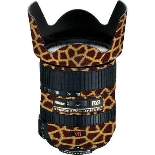 LensSkins Lens Skin for the Nikon 18-200mm f/3.5-5.6G AF-S IF-ED DX VR Lens (Giraffe)
