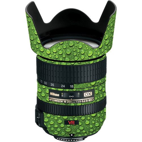 LensSkins Lens Skin for the Nikon 18-200mm f/3.5-5.6G AF-S IF-ED DX VR Lens (Green Water)