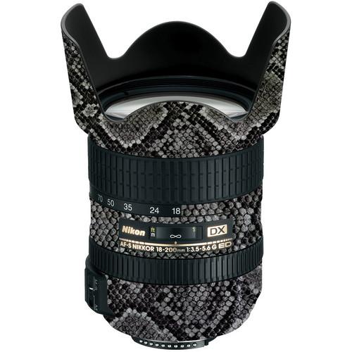 LensSkins Lens Wrap for Nikon 18-200mm f/3.5-5.6G (Snake Skin)