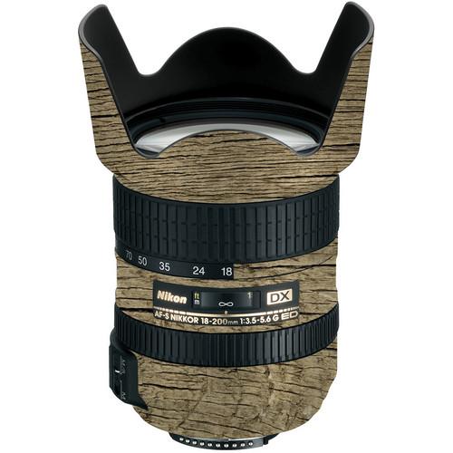 LensSkins Lens Wrap for Nikon 18-200mm f/3.5-5.6G (Woodie)