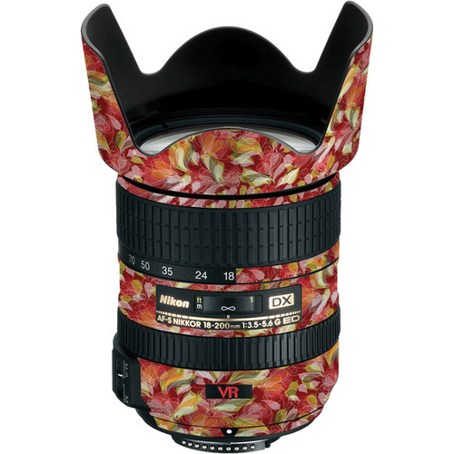 LensSkins Lens Skin for the Nikon 18-200mm f/3.5-5.6G AF-S IF-ED VR II Lens (French Feather)