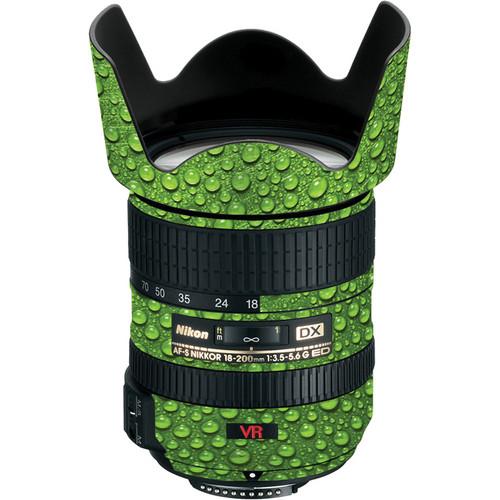 LensSkins Lens Skin for the Nikon 18-200mm f/3.5-5.6G AF-S IF-ED VR II Lens (Green Water)