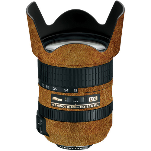 LensSkins Lens Wrap for Nikon 18-200mm f/3.5-5.6G II (Leathered)