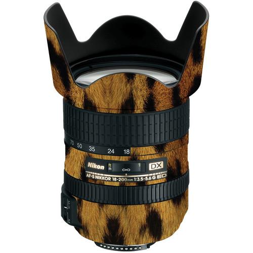 LensSkins Lens Wrap for Nikon 18-200mm f/3.5-5.6G II (Leopard)