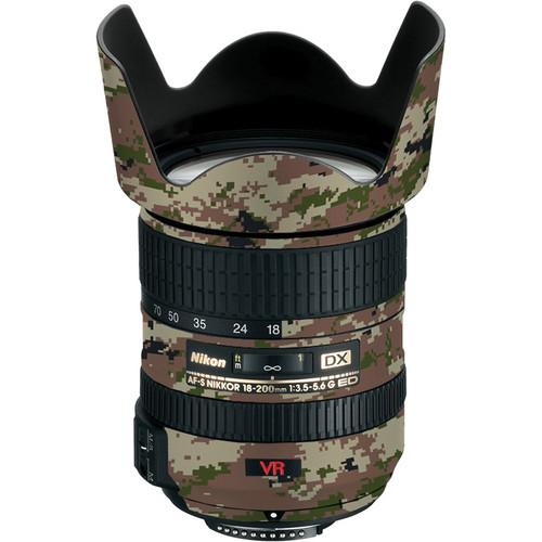 LensSkins Lens Skin for the Nikon 18-200mm f/3.5-5.6G AF-S IF-ED VR II Lens (Camo)