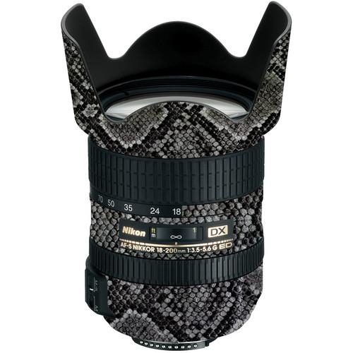 LensSkins Lens Wrap for Nikon 18-200mm f/3.5-5.6G II (Snake Skin)