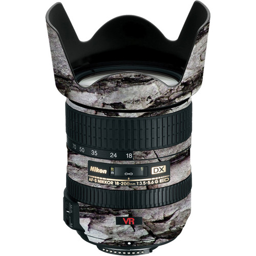 LensSkins Lens Skin for the Nikon 18-200mm f/3.5-5.6G AF-S IF-ED VR II Lens (Winter Woodland)