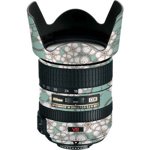 LensSkins Lens Skin for the Nikon 18-200mm f/3.5-5.6G AF-S IF-ED VR II Lens (Zen)