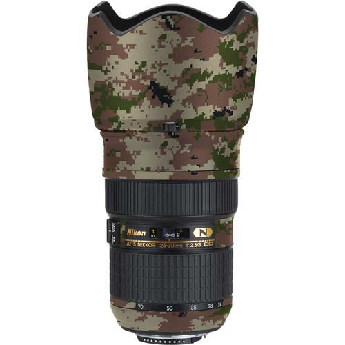 LensSkins Lens Skin for the Nikon 24-70mm f/2.8G AF-S ED Lens (Camo)