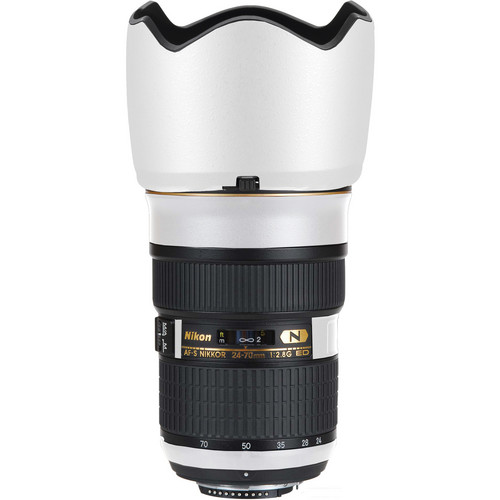 LensSkins Lens Skin for the Nikon 24-70mm f/2.8G AF-S ED Lens (Flat White)