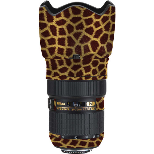 LensSkins Lens Skin for the Nikon 24-70mm f/2.8G AF-S ED Lens (Giraffe)