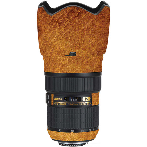 LensSkins Lens Wrap for Nikon 24-70mm f/2.8G (Leathered)