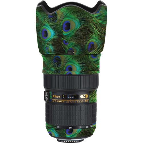 LensSkins Lens Skin for Nikon 24-70mm f/2.8G AF-S ED (Peacock Bliss)